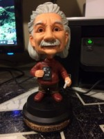 Bobble head Eienstein